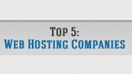 Our Top 5 Web Hosting Companies